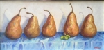 pears in row